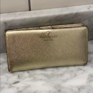 Kate Spade New York Gold Wallet